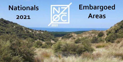 Nationals 2021 Embargoed Areas