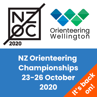 NZOC 2020 - New Zealand Orienteering Championships - Wellington - 23-26 October 2020