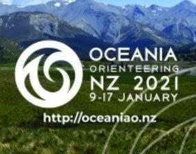 Oceania Orienteering NZ 2021