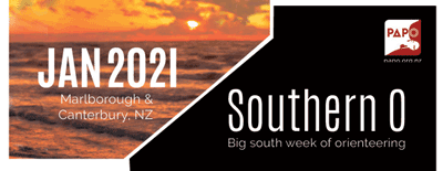 Jan 2021 Southern O - Marlborough & Canterbury NZ, Big south week of orienteering
