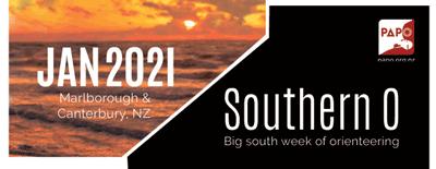 Jan 2021 Southern O - Marlborough & Canterbury NZ, Big south week of orienteering