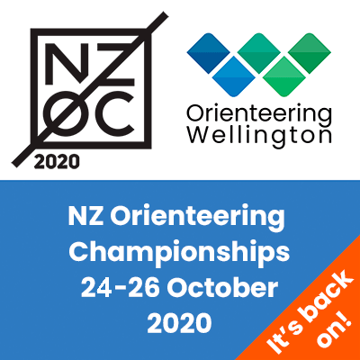 NZOC 2020 - New Zealand Orienteering Championships - Wellington - 24-26 October 2020