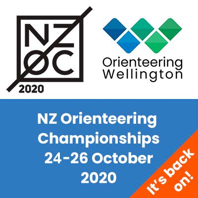 NZOC 2020 - New Zealand Orienteering Championships - Wellington - 24-26 October 2020