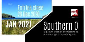 Southern O Week – entries closing
