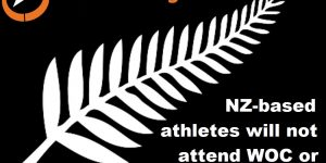 New Zealand-based athletes will not be attending WOC in 2021