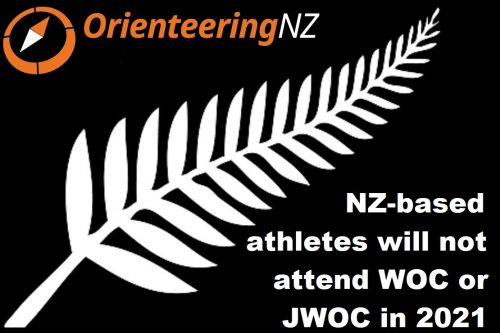 ONZ - NZ-based athletes will not attend WOC or JWOC in 2021