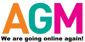 2021 AGM on Thursday 15th April – We are going online again!