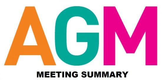 AGM Meeting Summary