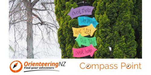 Orienteering NZ Compass Point