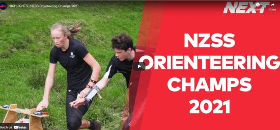 NZ Secondary Schools Orienteering Champs 2021